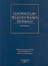 Contract Law: Selected Source Materials, 2008 ed. (American Casebooks)