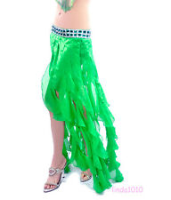 NWT Sexy Belly Dance Costume Hip Scarf Skirt 11 colors