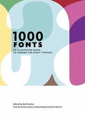 1000 Fonts, Keith Martin, Robin Dodd, Graham Davis