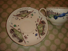 royal worcester very important person golf bone china cup and saucer excellent