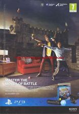 "Medieval Moves ""PS3"" 2011 Magazine Advert #4361"