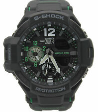 New Casio G-Shock G-Aviation Twin Sensor with Illuminator Mens Watch GA1100-1A3