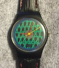 Rare Ladies Vintage 1986 Swatch Chelsea Watch