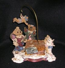 BOYDS BEAR MUSICAL BOX - THE FLYING LESSON # 4931