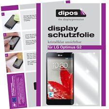 LG G2 Schutzfolie klar Displayschutzfolie Folie dipos