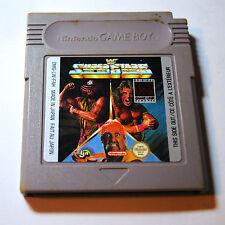 Jeu SUPER STARS (WRESTLING) pour Nintendo Game Boy