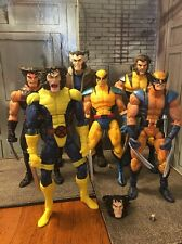 Marvel Legends Wolverine Lot Face Off Unmasked Select