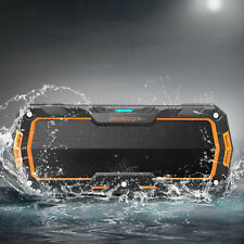 Protable Wireless Bluetooth Speaker Stereo Bass Waterproof Shockproof Outdoor US
