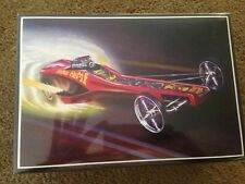 AMT HIPPIE HEMI MOD BODIED RAIL FRONT ENGINE DRAGSTER HOT ROD MODEL KIT SEALED