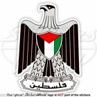 PALESTINE Coat of Arms, Palestinian National Emblem Vinyl Bumper Decal, Sticker