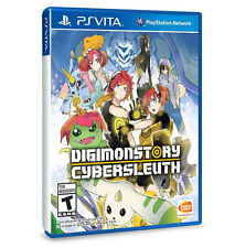 Digimon Story Cyber Sleuth English PS Vita Game Brand New Sealed