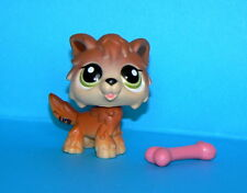 RETIRED LITTLEST PETSHOP # 2141 TIMBER WOLF DOG  LPS CHIEN LOUP