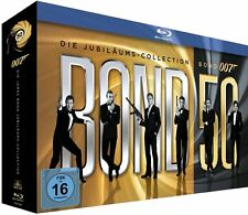 JAMES BOND 007: Die Jubiläums-Collection, 50 Jahre (Blu-ray, 23 Discs) NEU+OVP