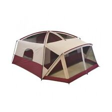Outdoor Canopy Tent Screen House 12 Person Cabin Porch Sleeper Camping Bed Red