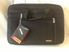"Samsonite 2 Two Gusset Briefcase Classic Business Laptop Computer Case 17"" New"