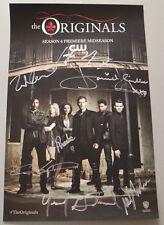 SDCC Comic Con 2016 The Originals Cast Signed Poster Joesph Morgan +5 Lot A