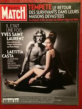 Paris Match 11/03/10 Yves Saint Laurent - Casta - Coeur de Pirate - Balenciaga
