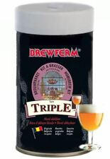 Brewferm TRIPLE Beer Kit 9L ABV 8.0% Homebrew Strong Genuine Belgium Beer Making