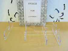 Clear 3 place setting display stand (clear) good quality pack of two FP30CB