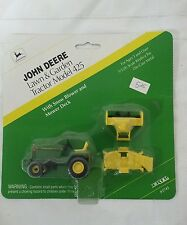 John Deere 425 Lawn Garden Tractor Set 1/32 ERTL Mower Deck Snow Blower new