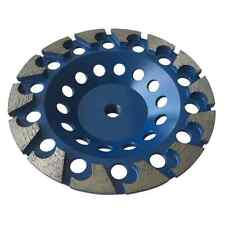 """7"""" Aggressive Grinding Wheels For Concrete Epoxy Angle Grinder 5/8""""-11 Arbor"""