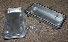 Project Box Metal Diecast Enclosure - IP67, 96 x 192 x 45mm, Waterproof.