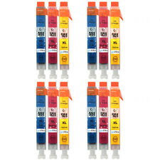 12 C/M/Y Colour Ink Cartridges for Canon Pixma iP7250 iX6850 MG5550 MG6450 MX725