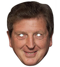 Roy Hodgson 2D Card Party Face Mask Fancy Dress Up Football Manager Of England