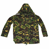BRITISH ARMY WINDPROOF SMOCK - WOODLAND - DPM - GRADE 1 USED - ALL SIZES -CADETS