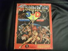 VINTAGE THUNDERCATS COLORFORMS 3-D PLAYSET
