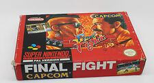 FINAL FIGHT SUPER NINTENDO SNES PAL ESPAÑA