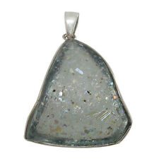 Sterling Silver Pendant w/ 2,000 Year Old Antique Roman Glass (BTS-NP7121/RG)