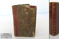 1836 ANTIQUE HARDCOVERED FRENCH BOOK – DOUBLE REIGN 13th C. CHRONICLES