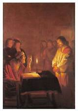Christ before the High Priest Gerrit van Honthorst Oil on canvas, London