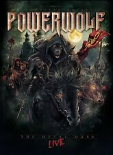 POWERWOLF - THE METAL MASS-LIVE (MEDIABOOK 2BR+1CD)  2 BLU-RAY+CD NEU