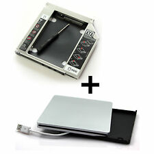 "12,7mm HDD/SSD SATA a pata/IDE caddy F. 17"" 20"" 24"" imac 2006 hasta 2008 Apple"