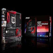 Asus B150 Pro Gaming/Aura Motherboard CPU i3 i5 i7 LGA1151 Intel DDR4 VGA HDMI
