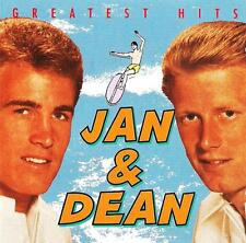 CD Jan & Dean Greatest Hits SURF CITY Little Old Lady from Pasadena Dead Man 's