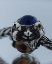 New Authentic Trollbeads Dichroic Glass Troll 61707 Silver Charm Bead