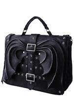 Black Bat Wings Hand Bag Purse Gothic Satchel Briefcase Gothic Punk Alternative