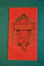 1904 Holiday Price List American Supply Company Memphis Distillers Fine Whiskey