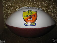 Oregon Ducks- Oregon State Beavers 2004 Civil War Football Game Ball