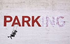 BANKSY ART POSTER PRINT A3 SIZE(PARKING)
