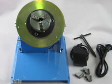 2-18RPM 10KG Light Duty Welding Turntable Positioner with 80mm Chuck 110V/220V