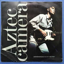 Aztec Camera - Somewhere In My Heart / Everybody Is A Number One - WEA YZ-181 Ex