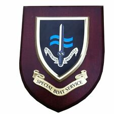 SBS Special Boat Service Military Shield Wall Plaque New Style