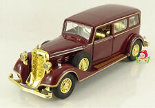 1:32 Cadillac Old Car The last Chinese Emperor's special car model W/Light Sound