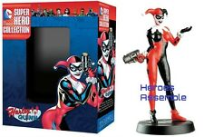 BEST OF DC SUPER HERO FIGURINE COLLECTION #5 HARLEY QUINN EAGLEMOSS NEW (45)