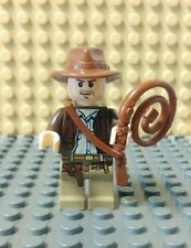 LEGO Indiana Jones Minifigure w/ Whip and Satchel minifig