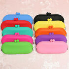 Cosmetic Glasses Cellphone Coin Bag HandBag Rubber Silicone Pouch Purse Wallet
